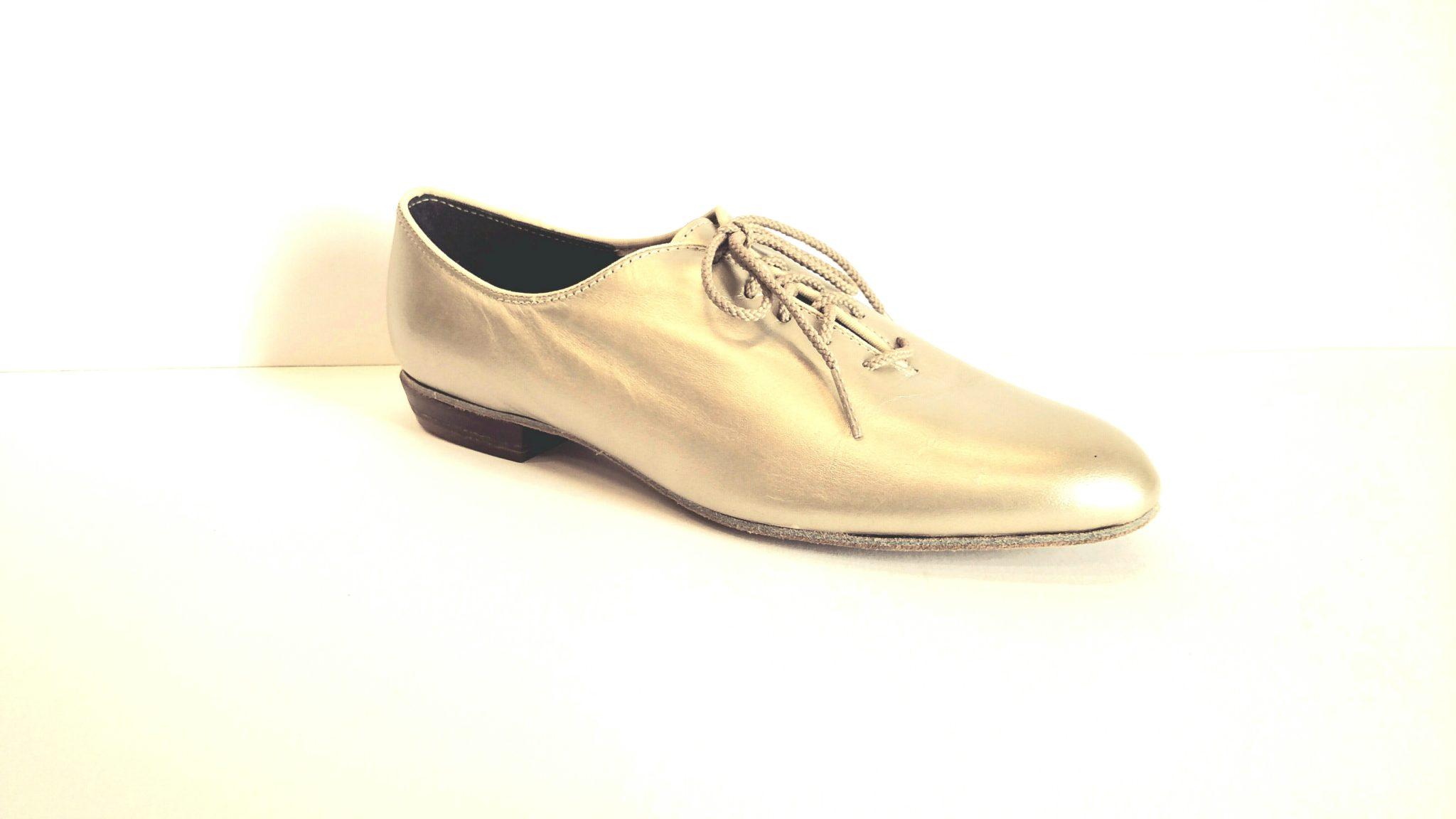 Tic Tac Toe Leather Shoe